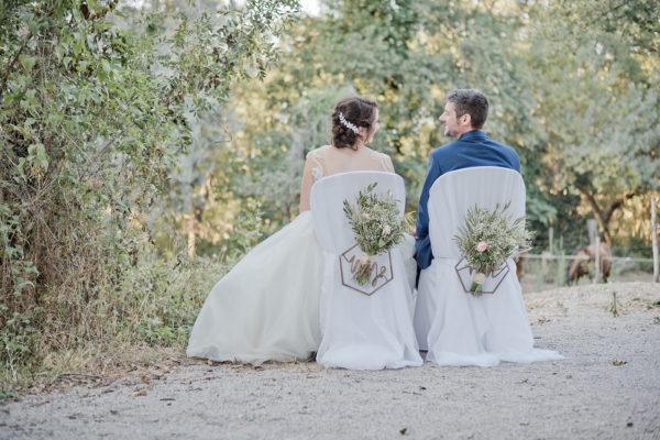 Nawel et Nicolas, des mariés accompagnés par By Maj, organisation et décoration de mariage à Perpignan, pyrénées orientales, occitanie